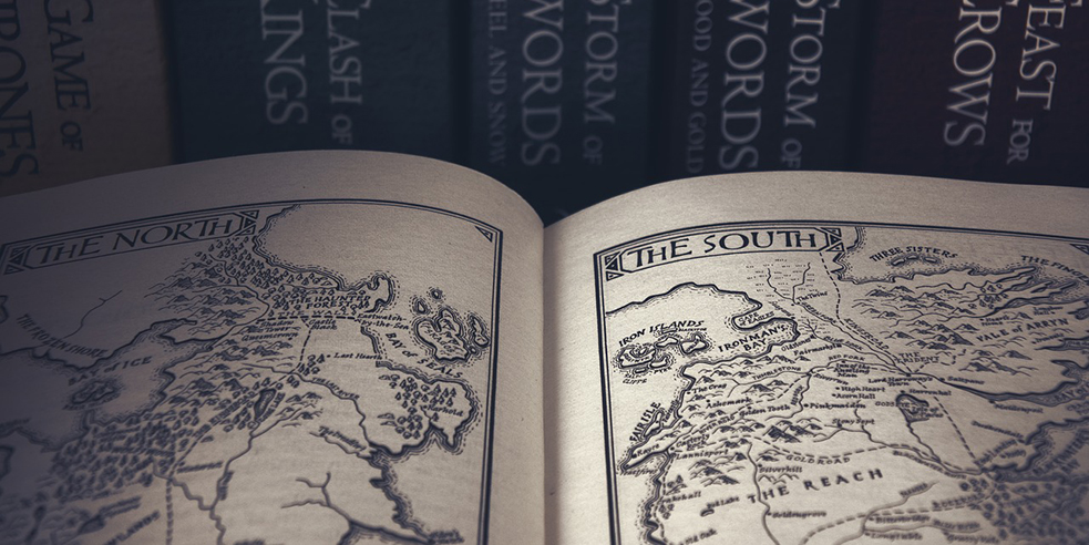 Maps from Game of Thrones