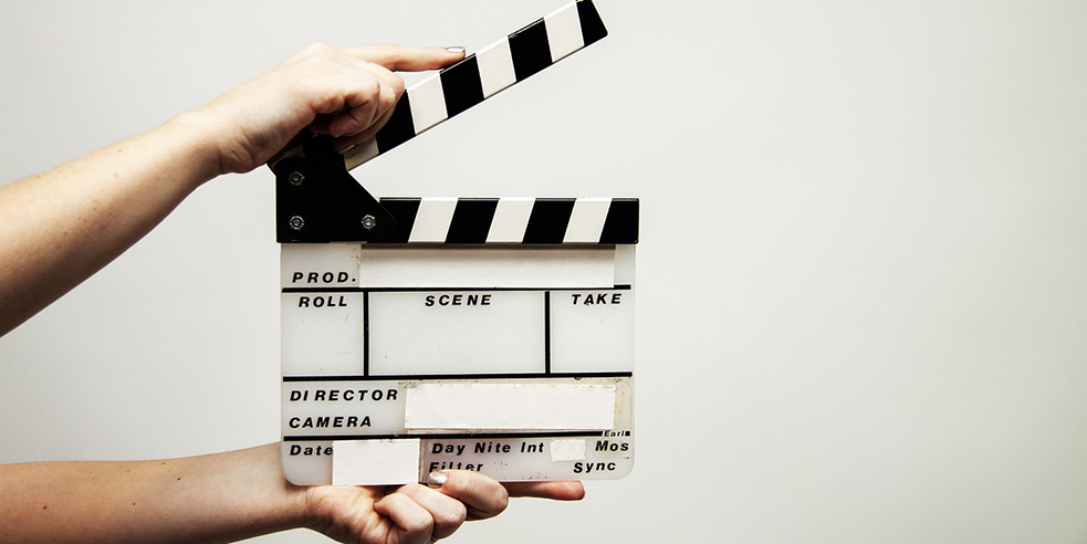 slate used in movie production